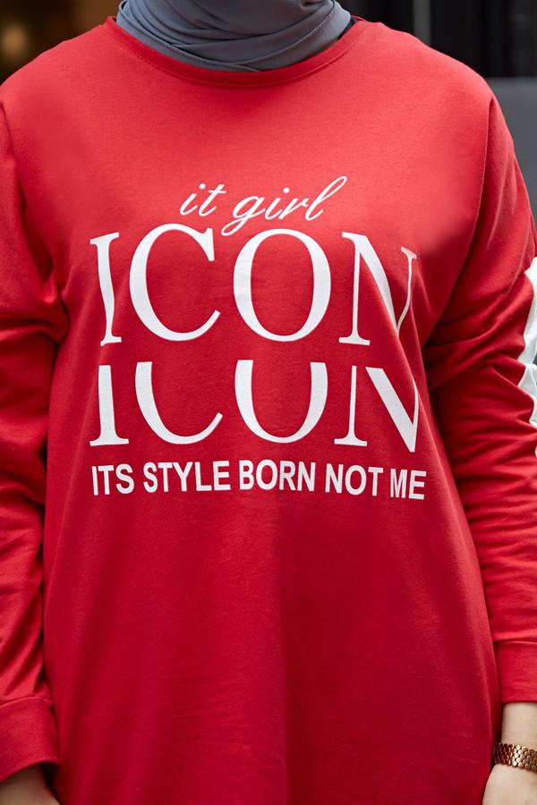 AVEN Icon Spor Takım 1140-2 Kırmızı