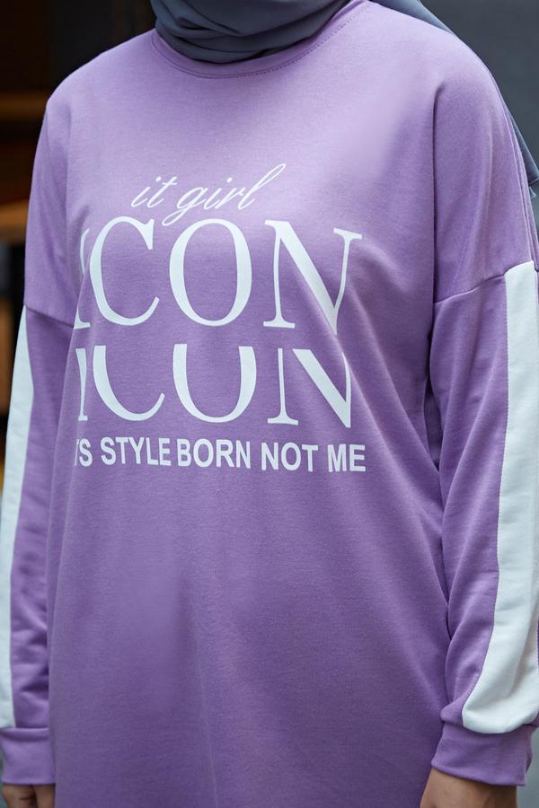 AVEN Icon Spor Takım 1140-6 Lila