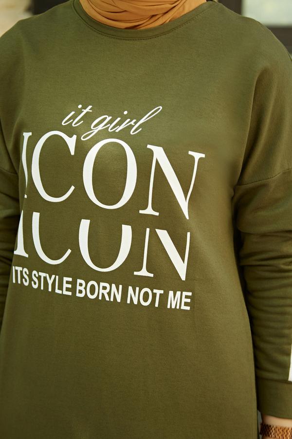 AVEN Icon Spor Takım 1140-8 Haki