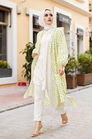 - MDI Lemon Kimono 8946-12 Sarı