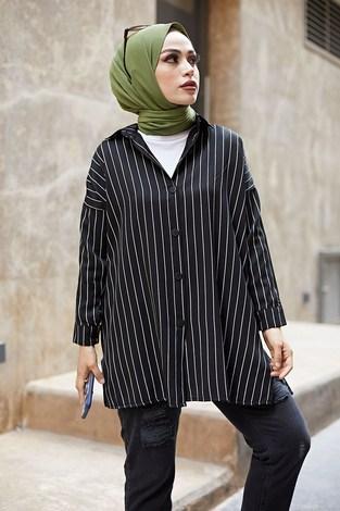 - MDI Line Gömlek 8988-1 Siyah (1)