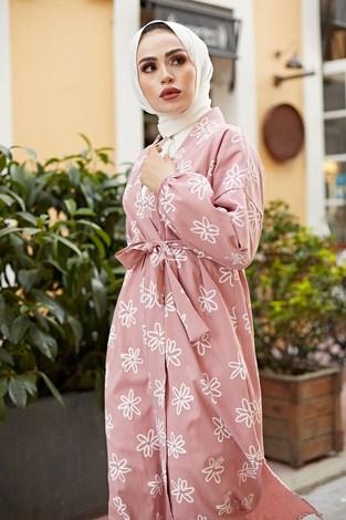 - MDI Papatyalı Kimono 8946-5 Pudra (1)