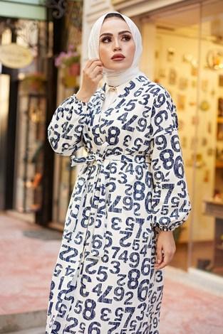 - MDI Rakamlı Kimono 8946-8 Beyaz (1)