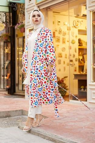 MDI Renkli Kimono 8946-13 - Thumbnail