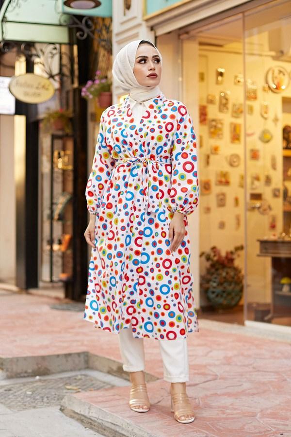 MDI Renkli Kimono 8946-13