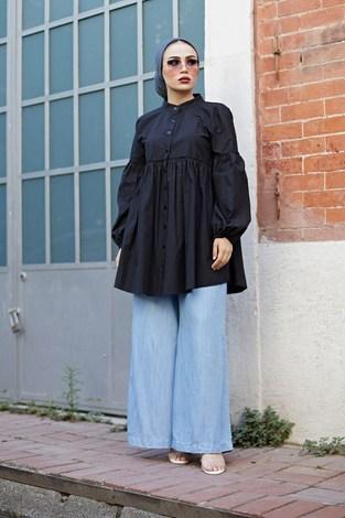- MDI Rossa Gömlek 9341-1 Siyah