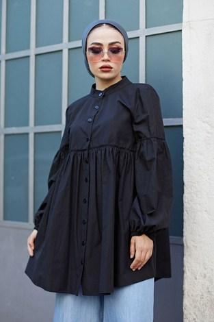 - MDI Rossa Gömlek 9341-1 Siyah (1)