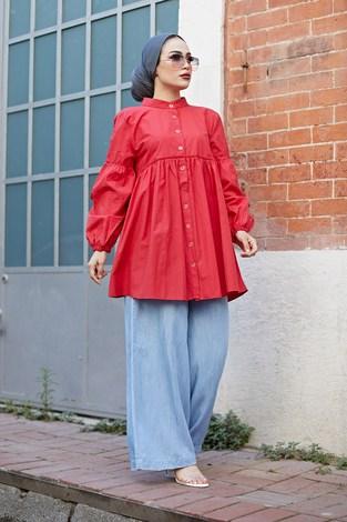 - MDI Rossa Gömlek 9341-3 Kırmızı