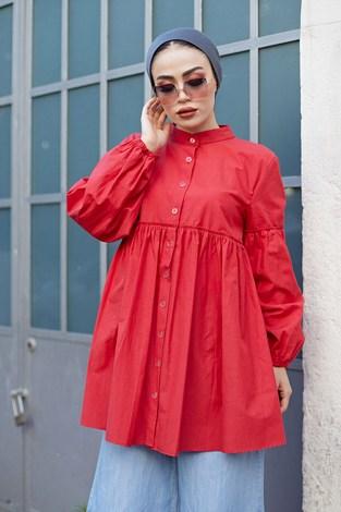 - MDI Rossa Gömlek 9341-3 Kırmızı (1)