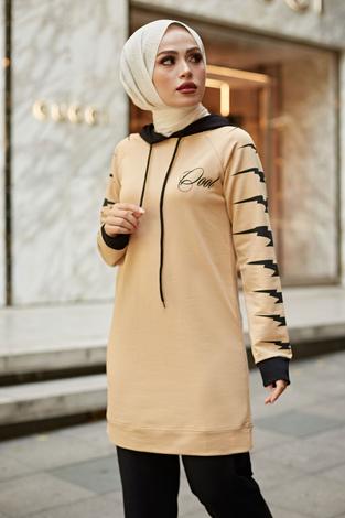 - MDK İkili Spor Takım 8743-2 Camel-Siyah (1)