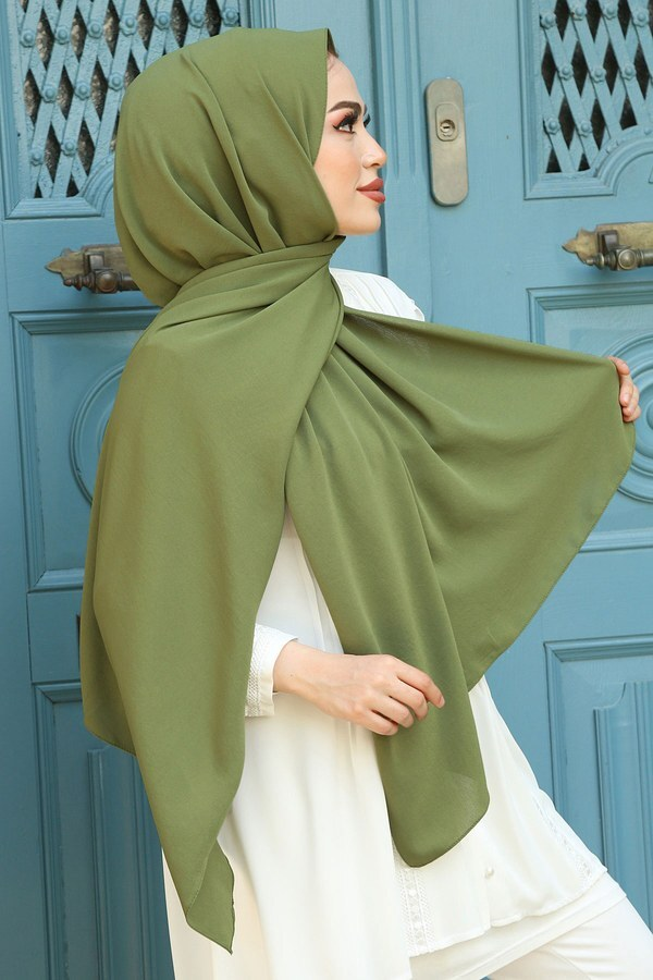Medine ipeği Şal 1146-03 Yeşil
