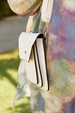 - Messenger Model Çanta 8938-2 Beyaz