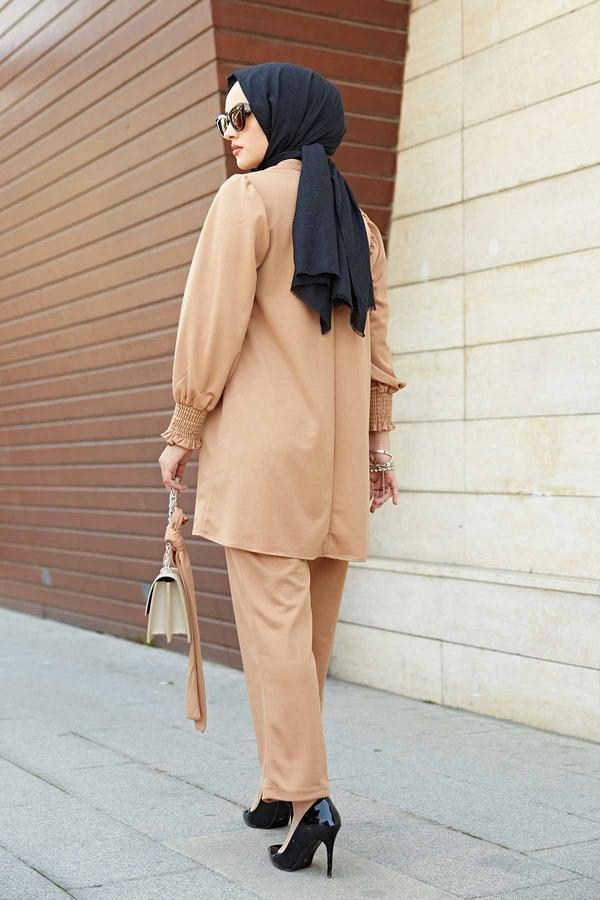 Morvin İkili Takım 100MD-7165 Camel