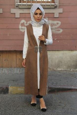 MPR Tesettür Yelek 8287-4 - Thumbnail