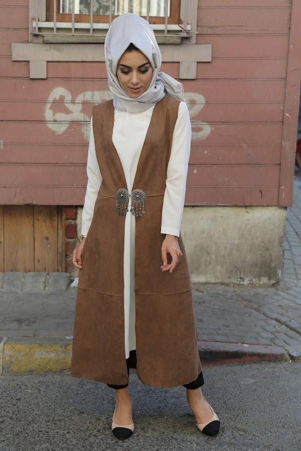 MPR Tesettür Yelek 8287-4