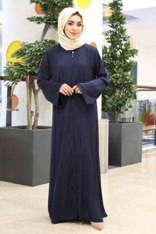 - MR Kolu Taşlı Dubai Ferace 5450-10 Lacivert