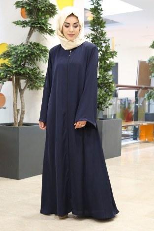 - MR Kolu Taşlı Dubai Ferace 5450-10 Lacivert (1)
