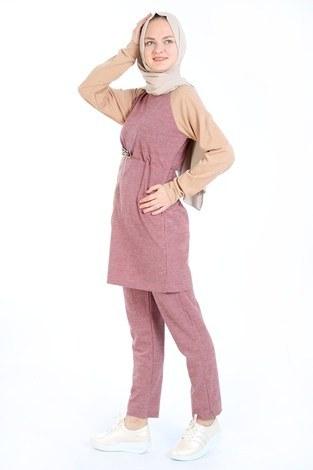 Triko İkili Takım 3046-09 - Thumbnail