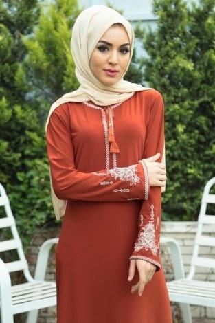 - Nakışlı Elbise 4155-6 (1)