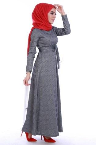 - Kuşaklı Elbise 3151
