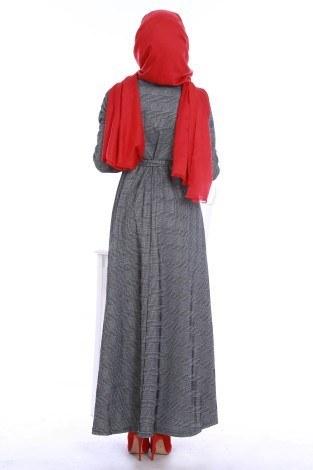 Kuşaklı Elbise 3151 - Thumbnail