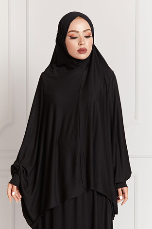- Namaz Elbisesi 8083-1 Siyah (1)
