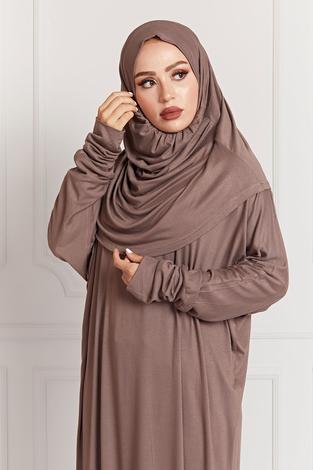 - Namaz Elbisesi 8842-1 Camel (1)