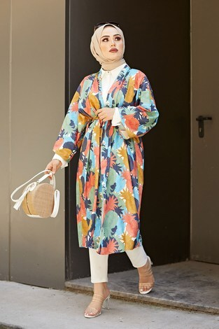 - Orange Kimono 9213-2