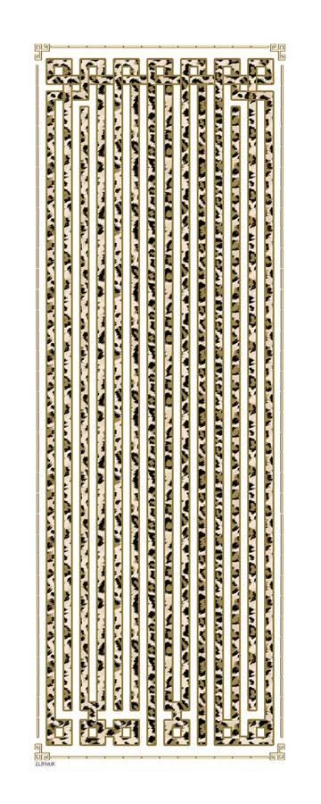 Pamuklu Desenli Şal 190E-8181 -116
