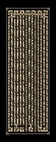Pamuklu Desenli Şal 190E-8181 -121 - Thumbnail