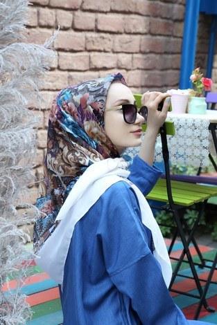 Pamuklu Yazlık Eşarp 4397-05 - Thumbnail