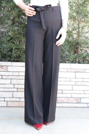 Bol Kumaş Pantalon 8306-1 - Thumbnail