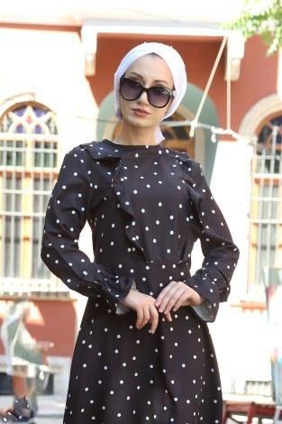 - Puantiyeli Elbise 4730-01 (1)
