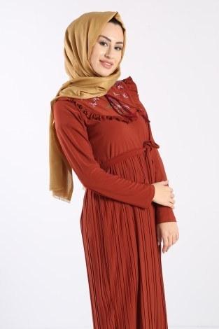 - Piliseli Nakışlı Elbise 1546-05 (1)