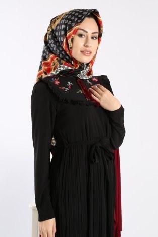 - Piliseli Nakışlı Elbise 1546-09 (1)