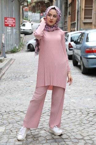 - Piliseli Pantolon-Tunik Takım 4765-9