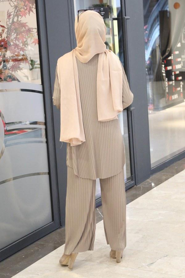Piliseli Pantolon-Tunik Takım 4765-12