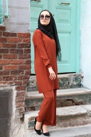 Piliseli Pantolon-Tunik Takım 4765-7 - Thumbnail