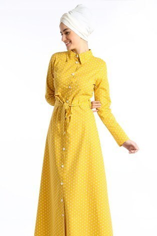 - Puantiyeli Elbise 4123-02 (1)