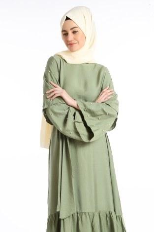 - Taş Detaylı Elbise 4075-01 (1)