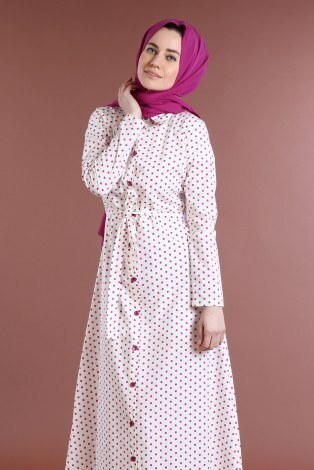 - Puantiyeli Elbise 4123-06 (1)