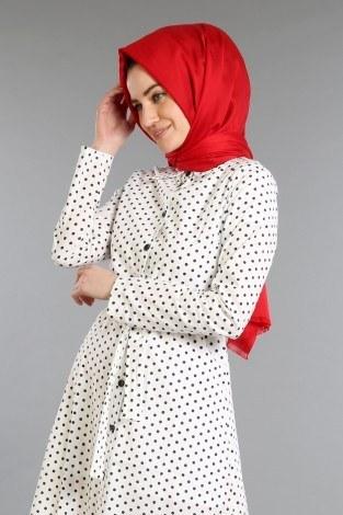 - Puantiyeli Elbise 4123-05 (1)