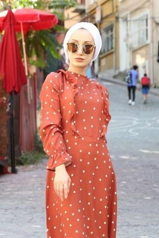 - Puantiyeli Elbise 4730-16 (1)