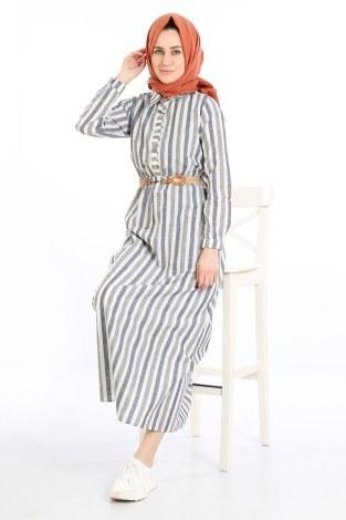 - Keten Elbise 01579-01