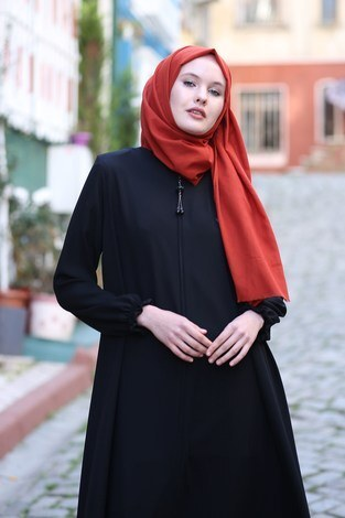 - Rabia Ferace 7430-1 Siyah (1)