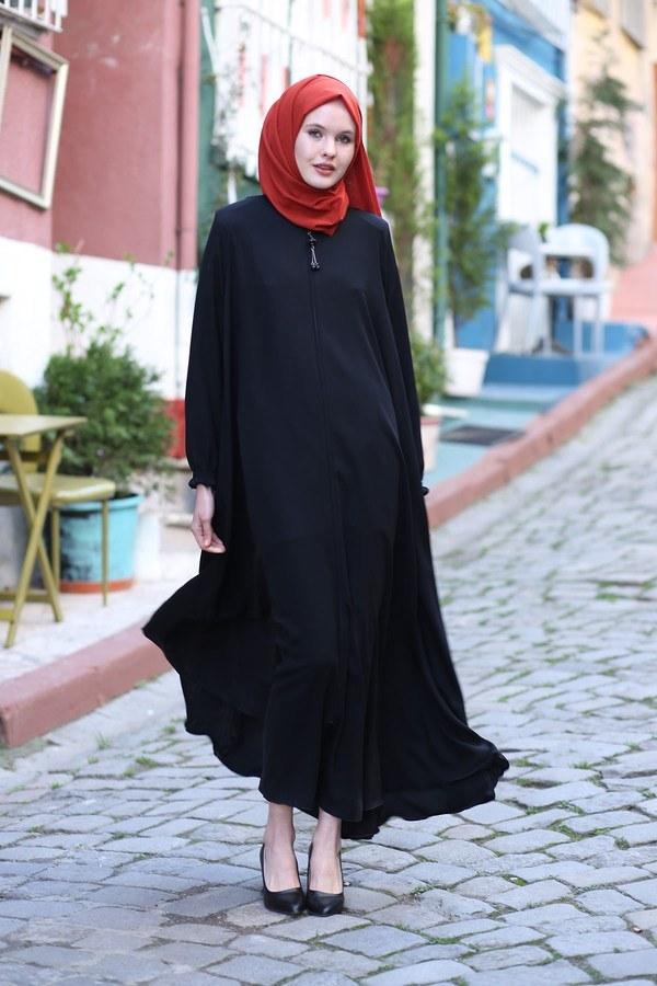 Rabia Ferace 7430-1 Siyah