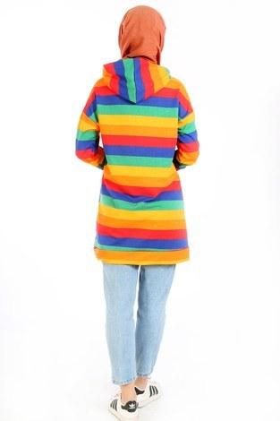 Renk Katmanlı Tunik 6020-02 - Thumbnail