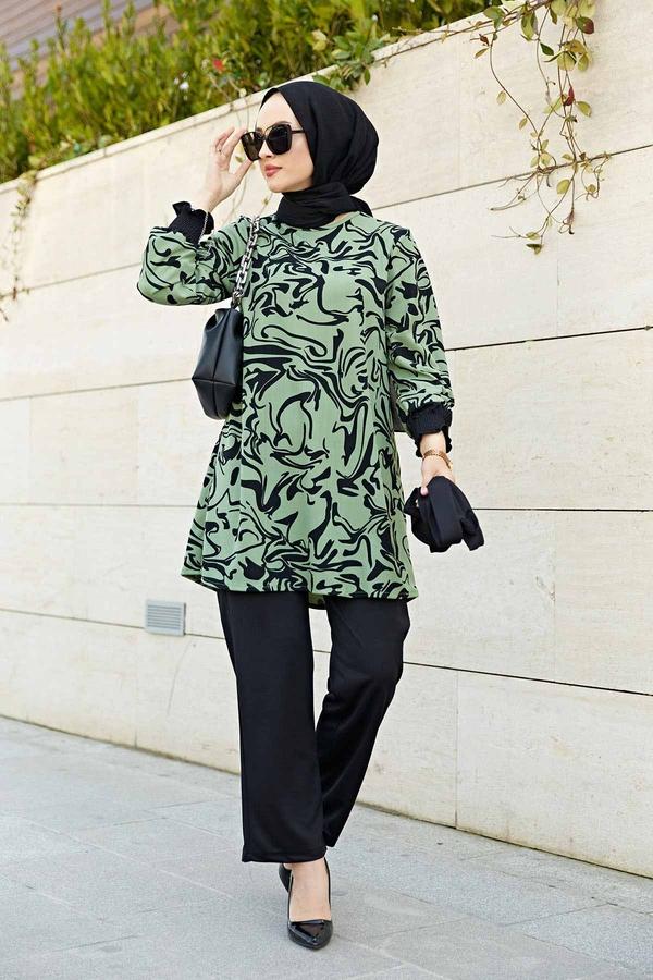 Rosella Takım 100MD-10395 Çağla Yeşili