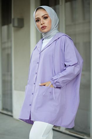 - SAG Hood Spor Gömlek 8944-11 Lila (1)
