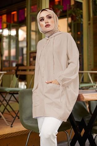- SAG Hood Spor Gömlek 8944-6 Camel (1)